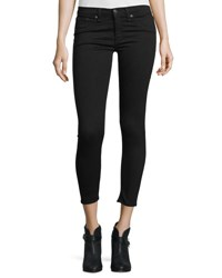 Rag And Bone Nero Capri Denim Jeans Black
