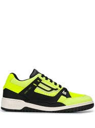 Bally Champion Low Top Sneakers Yellow