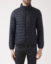Armani Jeans Navy Blue Lightweight Down Jacket