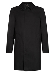 Aquascutum London Aquascutum Broadgate Single Breasted Raincoat Black
