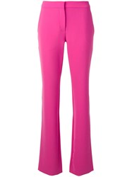 Moschino Wide Leg Trousers Pink