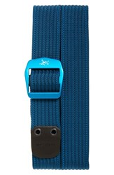 Men's Arc'teryx 'Conveyor' Webbing Belt Poseidon
