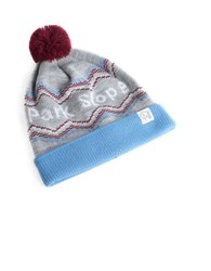 Tuck Shop Co. Park Slope Knit Beanie Heather Grey