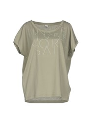 North Sails T Shirts Military Green