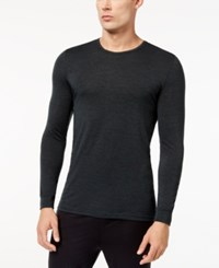 32 Degrees Men's Base Layer Crew Neck Shirt Ivry Green