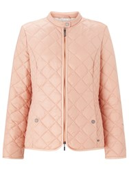 Gerry Weber Quilted Jacket Blush