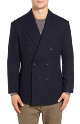 Singer Sargent Men's Double Breasted Wool Blazer