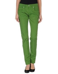 Dirk Bikkembergs Sport Couture Casual Pants Green