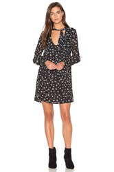 Wildfox Couture Fall Floral Mini Dress Black