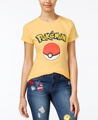 Freeze 24 7 Pokemon Juniors' Pokemon Ball Graphic T Shirt Yellow