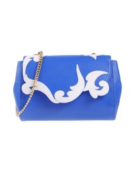 Boutique Moschino Handbags Blue