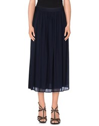 Momoni Momoni Skirts 3 4 Length Skirts Women Dark Blue
