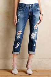 Ag Jeans Ag Ex Boyfriend Slim Jeans 15 Years Ripped