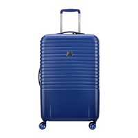 Delsey Caumartin 4 Wheel Trolley Case 70Cm Navy Anthracite Navy Anthracite