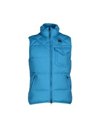 Blauer Coats And Jackets Down Jackets Men Turquoise