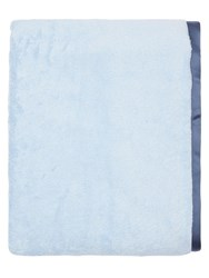 Alessandro Di Marco Cotton Terrycloth Bath Towel Blue