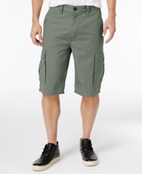 Lrg Men's B And T Cotton Cargo Shorts Thyme