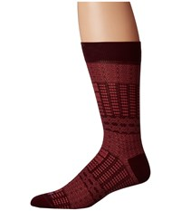 Etro Ikat Socks Red