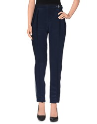Uniqueness Trousers Casual Trousers Women Slate Blue