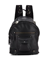 Will Leather Goods Silas Leather Backpack Black