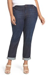 Eileen Fisher Plus Size Women's Stretch Denim Boyfriend Jeans