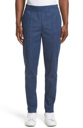 Neil Barrett Men's Denim Skinny Track Pants