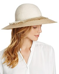 Eugenia Kim Honey Floppy Sun Hat Bone Sand