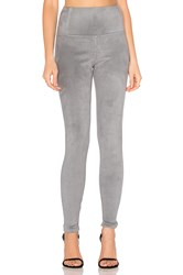 David Lerner Elliott Micro Suede Legging Gray