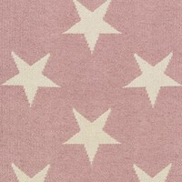 Dash And Albert Star Rug Pink 91 X 152 Cm