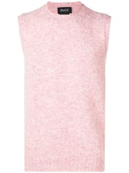 Howlin' Yacht Trip Knitted Vest Pink