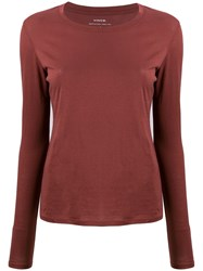 Vince Long Sleeve Fitted Top 60