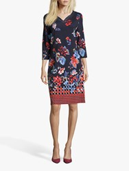 Betty Barclay Embellished Floral Dress Multi