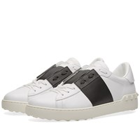 Valentino Open Low Top Sneaker White