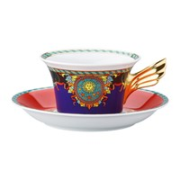 Versace 25Th Anniversary Le Roi Soleil Teacup And Saucer Limited Edition