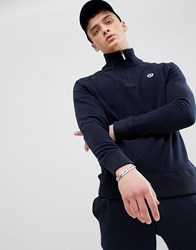 Henri Lloyd Rednor Half Zip Sweat In Navy