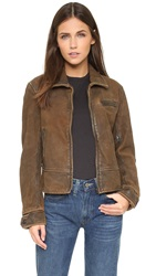 Levi's 1930S Leather Jacket Cocoa