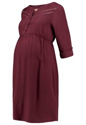 Mintandberry Mom Dress Windsor Wine Dark Red
