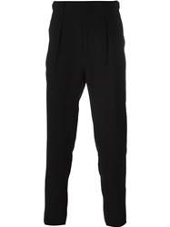 Msgm Slim Fit Trousers Black
