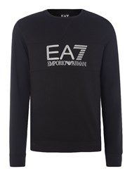 Emporio Armani Men's Ea7 Train Visibility Crew Neck Jumper Black