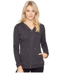 Ugg Sarasee Hoodie Black Bear Heather Women's Fleece Gray