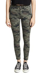 Hudson Barbara High Rise Skinny Jeans Deployed Camo