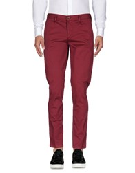 Basicon Casual Pants Garnet