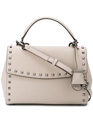 Michael Michael Kors Small 'Ava' Tote Nude And Neutrals