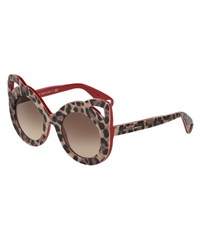 Dolce And Gabbana Girls' Leopard Cat Sunglasses
