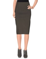 Gentryportofino Skirts 3 4 Length Skirts Women Lead