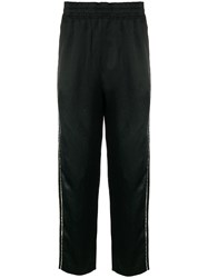 Damir Doma Side Stripe Track Trousers Black