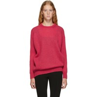 Max Mara Red Relax Knitted Sweater