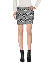 Intropia Mini Skirts Grey