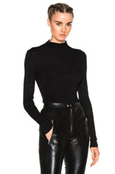 Isabel Marant Zasha Thin Ribbed Knit Sweater In Black