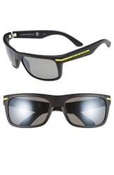 Men's Kaenon 'Burnet' 57Mm Polarized Sunglasses Yellow Logo Grey G12